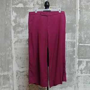 Banana Republic wide leg cropped pants